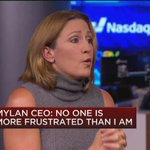 """Is Mylan done with price hikes given recent headlines? Mylan CEO: """"We are going to continue to run a business..."""" https://t.co/B03EEp759F"""