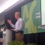 #Ottawa Mayor @JimWatsonOttawa addresses #ACBreakfast audience at @AlgonquinColleg. #ThankYou https://t.co/4STl9tasqq