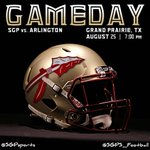 GAMEDAY   @SGPNation vs. @ahscoltfootball tonight at 7pm. The wait is over. #warriortakeover https://t.co/4CeUJWgXhP