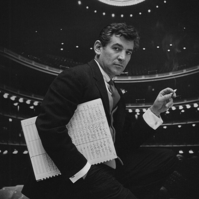 Today, we celebrate the great Leonard Bernstein, who was born on this day in 1918. https://t.co/G2aQplD1I1
