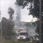 Incendio en Guadalajara, creo es oblatos. Se acaba de ver como si explotó algo @Trafico_ZMG https://t.co/85KxGW3jvj