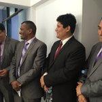 Adm. #UPN #MPN #SEHSNORTE y #ACESPERU en inauguración de #NFC de la #MPN https://t.co/L32u8deALK