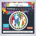 [#FestivalDeLaAlegria] Hoy a las 16h00 todos invitados en los bajos de la @GoberdelGuayas #Guayas #Guayaquil https://t.co/RDHceLBWRV
