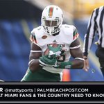 Video w/ @OneUpSports_: Two Miami Hurricanes players the country needs to know about https://t.co/uVQl36wo1S https://t.co/WYwSjiNpds