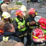 1/2 #AHORA Trabajamos en apoyo a @PCYBOMGDL #Incendio en bodega de productos de limpieza en San Miguel de Huentitán https://t.co/bW7E096aVr