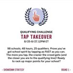 T-Minus 1.5 hours until we start tapping! It starts at 11am not 12 for us! That hour is significant! 😁 #UTSA #UTSA20 https://t.co/OojN7uhino