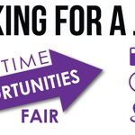 The Part-Time Opportunities Fair is happening TODAY in the Union Ballroom! #KStateWOW #PTOF https://t.co/kYdT8uSYNm https://t.co/IKXwSLGDbP