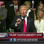 """.@realDonaldTrump: """"@HillaryClinton is a bigot who sees people of color only as votes, not as human beings."""" https://t.co/SngM74Vohc"""