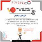 #Confianza en tí mismo, eso refleja seguridad en cualquier #entrevista #FelizJueves #Tips #Entrepreneur https://t.co/MuFCxE9TBX