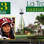 #FelizJueves Saludamos al cantón #LaTroncal, en sus 33 años de vida política. ¡Viva La Troncal! #Cañar @TroncalLa https://t.co/q5yQjKkXgB