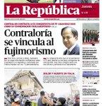 Debe quedar sin efecto contratación d #fujimorista confeso @Juanjodiazdios por @ContraloriaPeru es un mal precedente https://t.co/F75ObJYdok