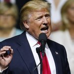 Bigot Donald Trump, Surrounded By Whites, Calls Hillary A 'Bigot' Who Wont Help Minorities https://t.co/bVxAovNi81 https://t.co/W8Kv4mjkjs