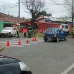 #Chillán Acc. De Tránsito en Carrera esq. Puren 2 personas lesionadas ABC trabajó en el lugar @RNECHILLAN @FR_256 https://t.co/D1BABidYwv