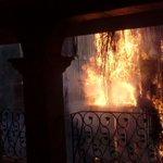 Sin lesionados el incendio en Santa Cecilia en #Guadalajara, una finca afectada. @1070noticias @Ramiro_Escoto https://t.co/oCJeHn4FMz