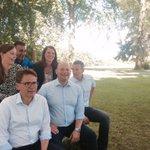 Holdet samlet til sommergruppemøde 💪 #dkpol https://t.co/uljAn9tnkR