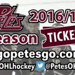 One step closer to a new @PetesOHLhockey season. Season Ticket booklets ready for pick up today at noon. #PMCRocks https://t.co/yztB24MvPA
