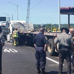 ICYMI: #Derby trucker cited after big crash Wednesday on I-95 near #nhv-#WestHaven line - https://t.co/tyDVKTYrlb https://t.co/UrIUXzjVP5