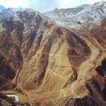 Travelling in the mountain! Road from Nara La(Pass) 4535m Humla, #Nepal to Tibet border. (by: Ringi Sherpa) https://t.co/pGSL5mtfBw