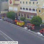 . @BomberosGYE controlan emergencia en centro comercial San Marino. ► https://t.co/xCiKdNB3Bl https://t.co/yLs7q9D6lE