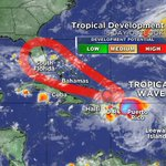 TROPICAL WAVE approaching the Bahamas has a high chance of development @LissetteCBS4 has details on @CBSMiami @NOON https://t.co/JKdyj3K1fJ