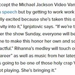 """Rihanna will perform the biggest tracks of her career and deliver a """"holy crap VMA moment""""  #VMAs https://t.co/GczhOpSFtB"""