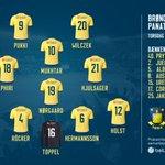 Panathinaikos gæster Brøndby Stadion, og der er kickoff kl. 19:00. Disse 11 starter 👇⚽️ #Brøndby #bifpao https://t.co/9o82P4UiQw