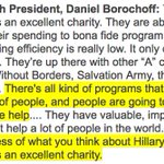 heres what a top charity watchdog told @CNN about the Clinton Foundation yesterday: https://t.co/Tsnt9LTRCk