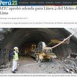 """PPK en Campaña: """"La linea 2 es más caro que el Canal de Panamá"""" PPK presidente: """"Firmaré adenda de la Linea 2"""". https://t.co/cvBGvf2TJX"""