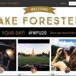 Tomorrow is your day, #WFU20! Our move-in day homepage takeover is live at https://t.co/PaSfHJ8Fqx. https://t.co/Ypqe89FnaU
