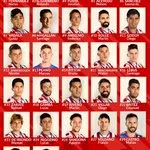 #Dorsales #PrimeraDivisión Temporada 2016/2017 https://t.co/5FgSq9P0N7