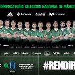 . @miseleccionmx anuncia convocatoria para los juegos eliminatorios vs El Salvador y Honduras rumbo a Rusia 2018 https://t.co/xU15YOVc28