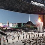 "Raiders file trademark for ""Las Vegas Raiders"". Take a look at their proposed stadium 😳 https://t.co/19JJ4c4K1G https://t.co/fzOxOjZVOa"