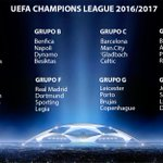 Así queda la fase de grupos de la Champions League 16/17 https://t.co/4YuV0Oqybt