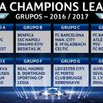 Definidos los grupos de la UEFA Champions League. Todo listo para la temporada 2016-2017 #UCLdraw https://t.co/d9q9NdqMpX