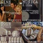 🎥 Jueves de cine al aire libre en el Jardín de Cerveza Hércules #Querétaro https://t.co/DeUL5YXbQc