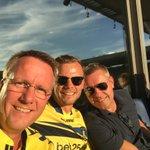 Formandsklubben på arbejde 💛💙 @SosseSass @PHummelgaard Kom så @BrondbyIF ❤️ https://t.co/3fxnhARzx3