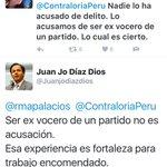 Cuando es puesta en evidencia,Palacios cambia,1ro acusa d violencia doméstica y luego dice q es por q fue vocero dFP https://t.co/VveA8ICdmN