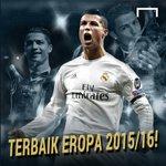 Selamat, @Cristiano Ronaldo menjadi pemain terbaik Eropa 2015/16! https://t.co/EW6m4hHB6Z