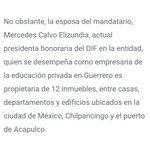 Astudillo dice NO POSEER inmuebles. Pero su esposa TIENE 12 en Acapulco, CDMX y Chilpancingo https://t.co/NJM4cFqRRh https://t.co/Ls9Q16nYjL
