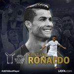 .@Cristiano es elegido el mejor jugador de la UEFA en Europa en la temporada 2015/2016 #SorteoChampions https://t.co/xDIJ84UpUP