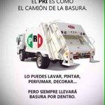 #NoConfioEn El PRI es como el Camión dla Basura lo puedes Lavar Pintar Pero Siempre Llevará Basura X Dentro Dudas?🇲🇽 https://t.co/I6SGK8ZLMc