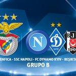 Nuestro grupo para la Champions League/Nosso grupo para Liga dos Campeões. #CarregaBenfica @SLBenfica https://t.co/jKwTRqeHM5