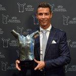 @Cristiano: NUMBER ONE IN EUROPE!!! 🏆 🏆 VIVA RONALDO 🏆 https://t.co/PkkAR7aLuN