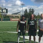 Heres a pic of MSUs new captains @RileyBullough @TylerOConnor7 and @i_AM_SEVEN7 (Demetrious Cox). https://t.co/LQPkBGwC7q