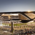 "Raiders apply for ""Las Vegas Raiders"" trademark, release stadium renderings: https://t.co/q4MAts76Ib https://t.co/W9zXOectHT"
