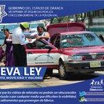 Ley de Tránsito, Movilidad y Vialidad https://t.co/fkI5qnuH8f #Oaxaca @GabinoCue @GobOax @PolVial_GobOax https://t.co/frHGPgPo0Q