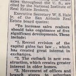 """These """"five significant changes"""" helped increase real estate sales in 1952! #100daysofrealtor #SABOR #SanAntonio https://t.co/DcQWa7Ff1z"""