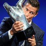"""Cristiano Ronaldo: """"É uma grande honra e agradeço terem votado em mim!"""" #UEFABestPlayer https://t.co/vKr2t1yQ1k"""