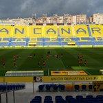 Así está el Estadio de Gran Canaria a menos de 72 horas para su estreno en LaLiga Santander 2016-17. https://t.co/LvfrGTIOvo