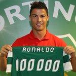 """Ronaldo: """"Fiquei contente. Sporting, clube onde me criei. Depois do Real Madrid, gostava que o Sporting passasse"""" https://t.co/kBpidsoffk"""